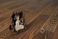 Массивная доска Amber Wood Ясень Винтаж браш