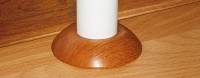 Пластиковое кольцо для труб «Идеал» D1/2=22мм/55мм