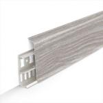 Пластиковый плинтус Идеал Деконика 85 мм
