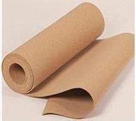 Пробковая подложка рулонная - толщина 2 мм, экологически чистая.