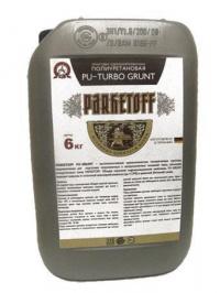Однокомпонентная полиуретановая грунтовка Parketoff PU-Turbo Grunt 6 кг.