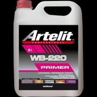 Дисперсионная грунтовка для всех видов клеев Artelit WB-222 / Артелит ВБ-222 (5 л.)
